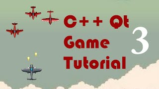 C++ Qt Game Tutorial 3 - Shooting With the Spacebar