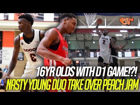 16yrs Old With D1 GAME?!? | Davonte Davis And Chris Moore DOMINATE Peach Jam CHAMPIONSHIP