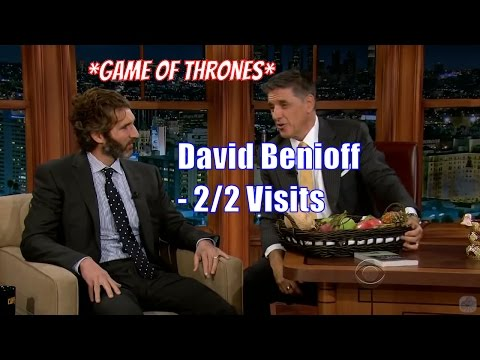 David Benioff  Cocreator Of Game Of Thrones  22 Visits In Chronological Order