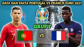 Data dan Fakta Portugal vs Prancis Grup F euro 2021