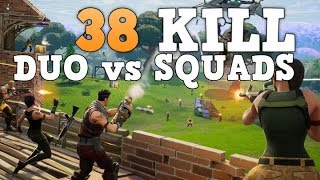 38 Kill Duo Squads (PS4 Pro) Fortnite Battle Royale