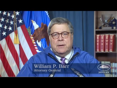 AG William P. Barr Delivers Remarks at the Virtual Alaska Federation of Natives Convention