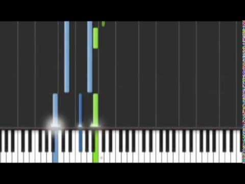 Young and Beautiful (Easy Verison)- Lana Del Rey Piano Sheet Music Tutorial