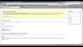 SharePoint 2010 : RSS Feeds On List - bestsharepointtraining.com