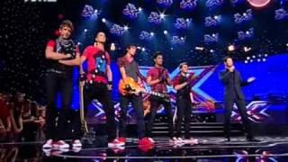 X Factor 3 Greece - Live Show 1 - Revolt - Κρυφά