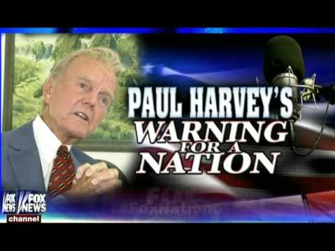 hannity paul harveys warning for a nation