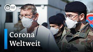 Coronavirus: Update zur weltweiten Lage
