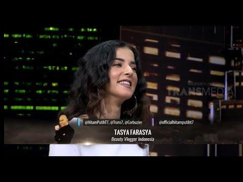 Chalenge Make Up Bersama TASYA FARASYA | HITAM PUTIH (17/01/19) Part 5