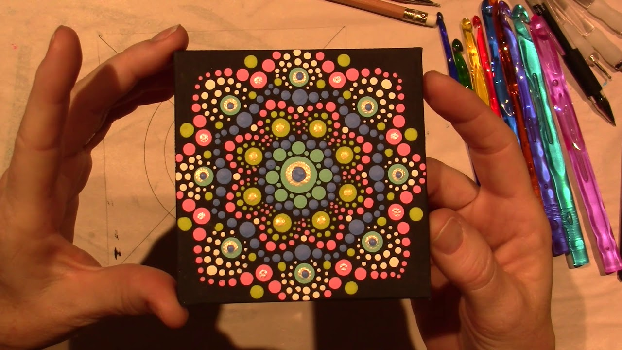 Painted Dot Mandalas for Beginners