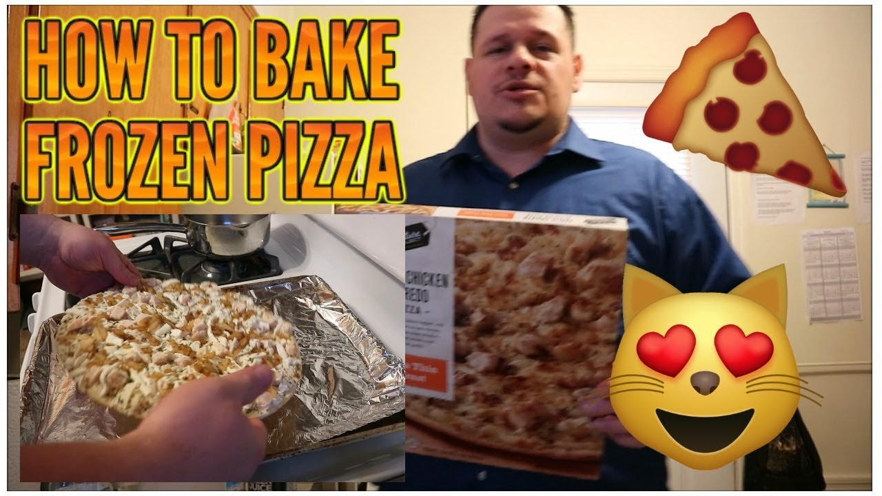 HOW TO BAKE FROZEN PIZZA FROM THE OVEN (STEP BY STEP ...