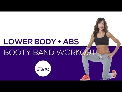 30-Minute Lower Body & Ab Workout with the Booty Band 🍑