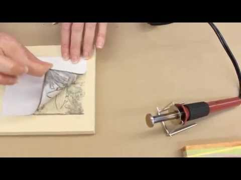 Crankin' Out Crafts -ep433 Wood Burning: Image Transfer