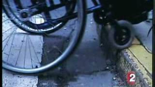 Accessibilité des handicapés la double peine 01.mpg