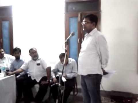 AMU Centre Bihar Movement Meeting on Sept 11, 2011 (Part 16)
