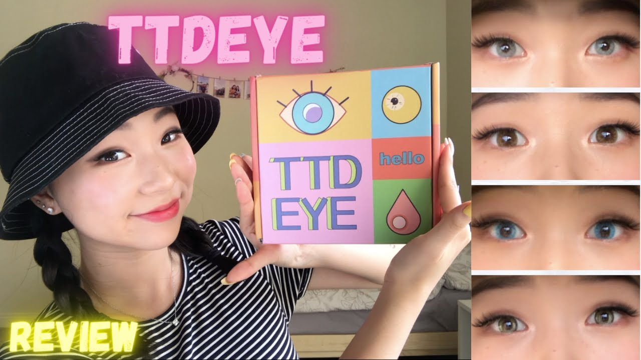 NEW FAVORITE COLOR CONTACTS | TTDEYE TRY ON