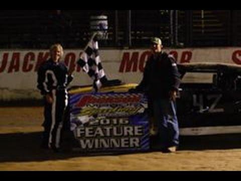 #42 Megan Sojourner Wins Factory Stock Powder Puff 06-25-2016