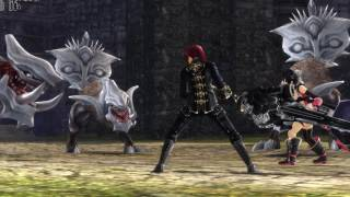GOD EATER 2 Rage Burst - PC gameplay - Max settings & rendered in 4K