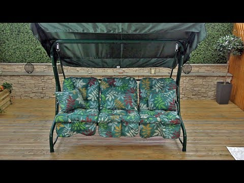 Roma 3 Seater Swing Seat Assembly Instructions