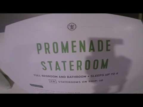 Harmony of the Seas: Promenade stateroom - #7185