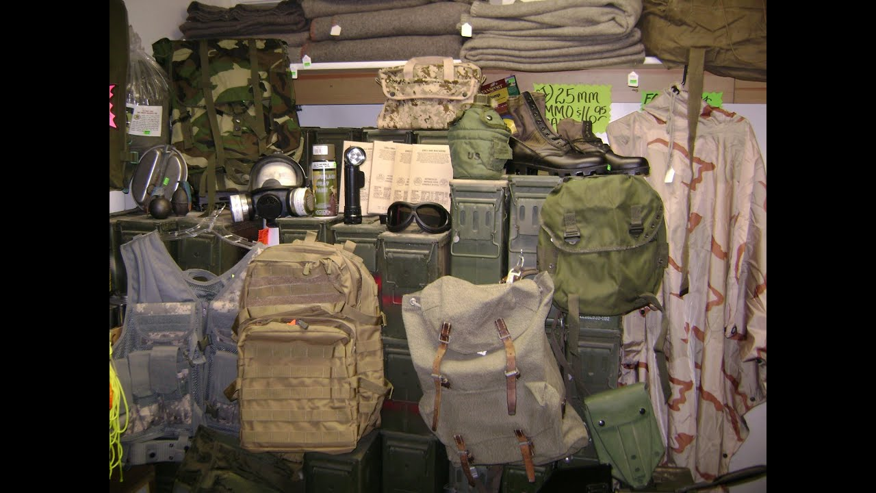 Viewer s Choice Military Surplus Overnighter The Outdoor Gear