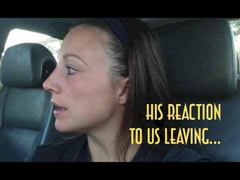 His Reaction to Us Leaving & More!