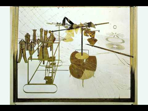 "Marcel Duchamp ""Large Glass"" appropriation animation"