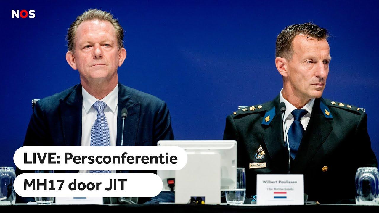 LIVE: Persconferentie MH17