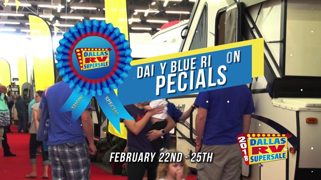 Dallas Rv Show 2020.Dallas Rv Supersale 2020 Motorhomes And Trailers