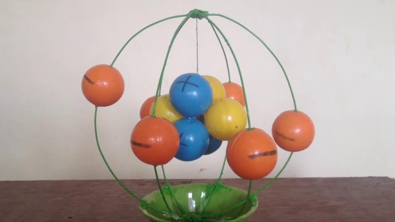 Potassium atom diagram
