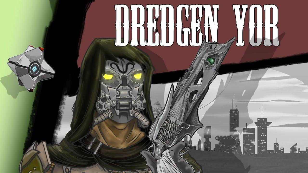 Destiny Lore - Dredgen Yor, Bearer of Thorn