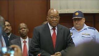 Corruption charges case against former President of South Africa Jacob Zuma adjourned til 8 June