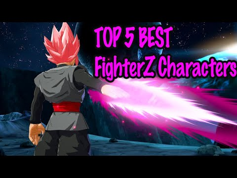 TOP 5 Best FighterZ Characters - Dragon Ball FighterZ