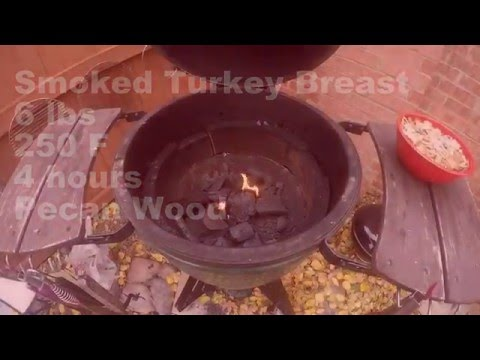 Smoked Turkey Breast On The Big Green Egg