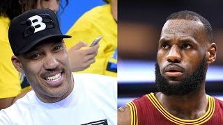 """Lonzo Ball's Dad LaVar FIRES BACK At LeBron James: """"I WON'T APOLOGIZE"""""""