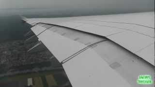 Lufthansa A380 Heavy Takeoff from Frankfurt Am Main! [Full Video]