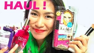 Japanese Drugstore Haul - Heroine Make, Shiseido etc Thumbnail