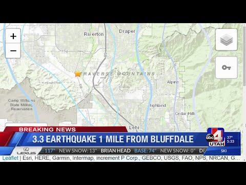 Earthquake felt in Utah County