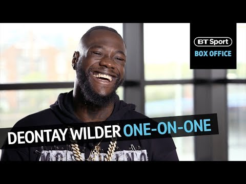 In-depth interview with Deontay Wilder | Tyson Fury's mental health, Anthony Joshua, money in boxing