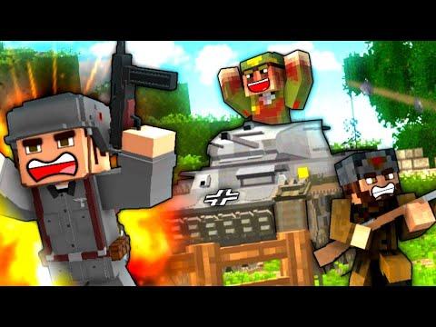VOLGA RIVER BUNKER! - S5E13 (Minecraft Heroes and Generals)