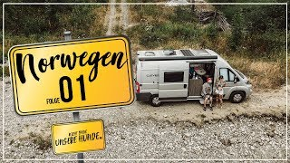 Anreise nach Norwegen über Dänemark & Schweden / # Folge1