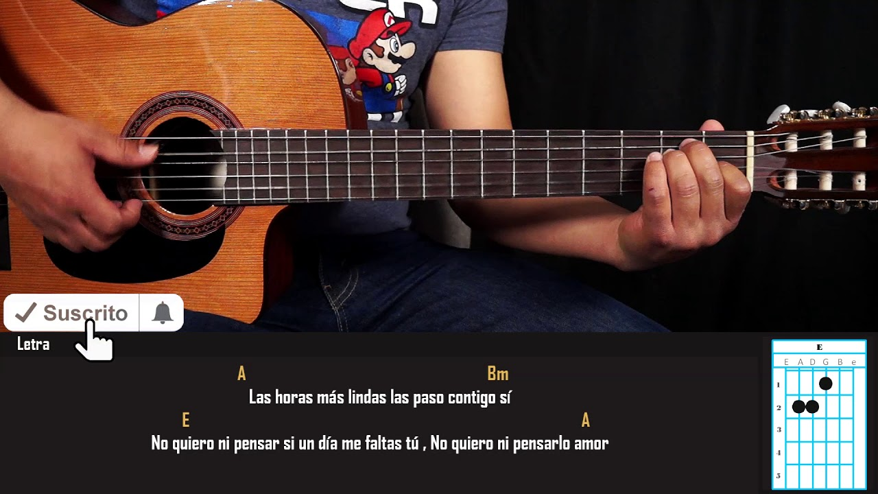 Como Tocar - Pideme La Luna - Leo Dan - Tutorial en Guitarra