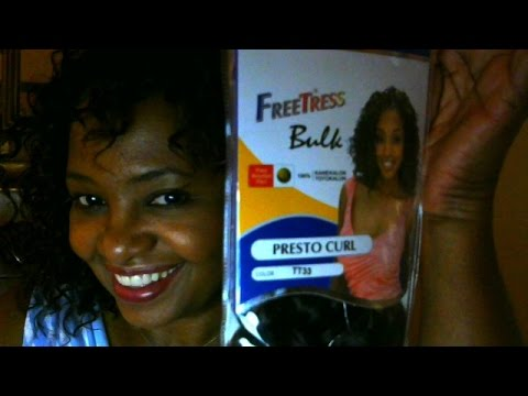 Freetress Presto Curl Crochet Braids Tt33 Install Review Youtube