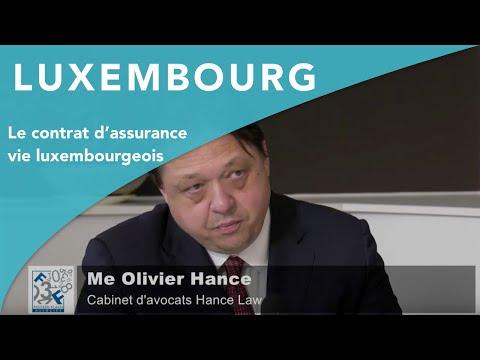 LE CONTRAT D'ASSURANCE VIE LUXEMBOURGEOIS - Cabinet FOLTZER-FLACH et associés