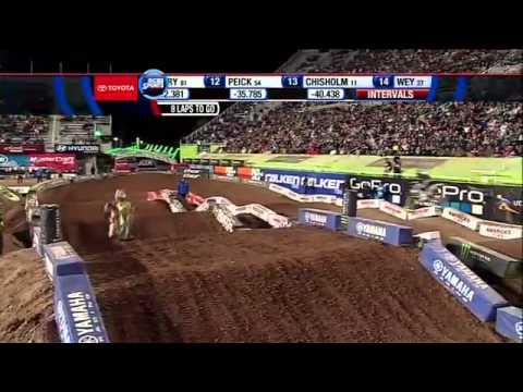 Salt Lake City Supercross 2012 450 Main Event