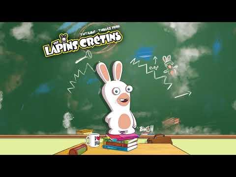 Le tome 10 de la BD Lapins Crétins est disponible : La classe !