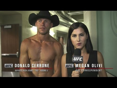 Download UFC 202: Donald Cerrone Backstage Interview
