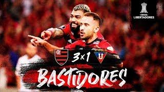 Flamengo vence a LDU e segue invicto na Libertadores. Veja os bastidores