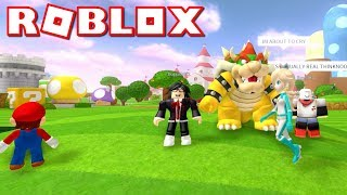 ROBLOX Super Mario Showcase is INSANE!! I can't even believe this i...
