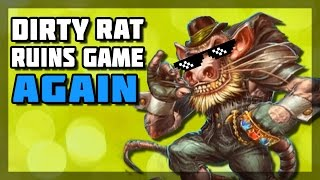 Hearthstone - Dirty Rat Ruins Game Again