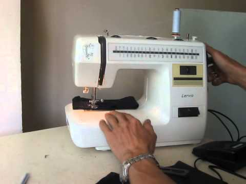 Nähmaschine Sewing Machine Швейная машина Lervia KH40 Test джинс Awesome Lervia Sewing Machine Instructions
